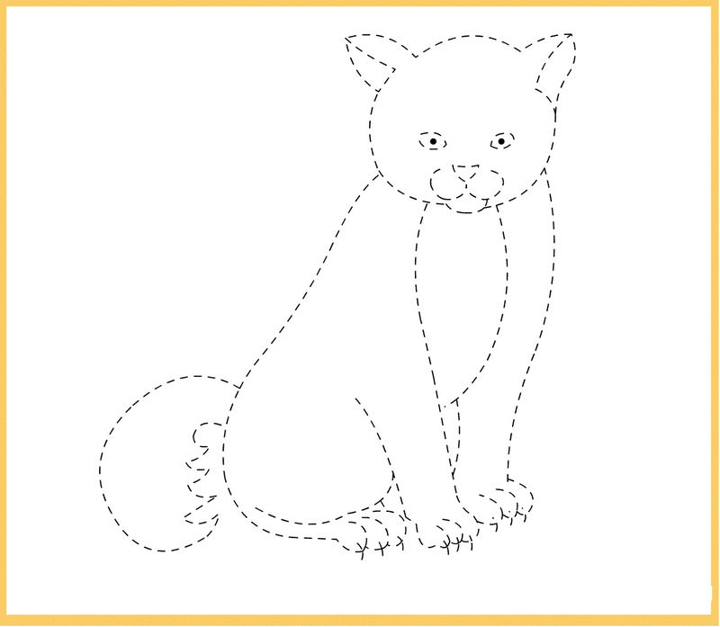 Tracing Pictures For Kids Easy 001