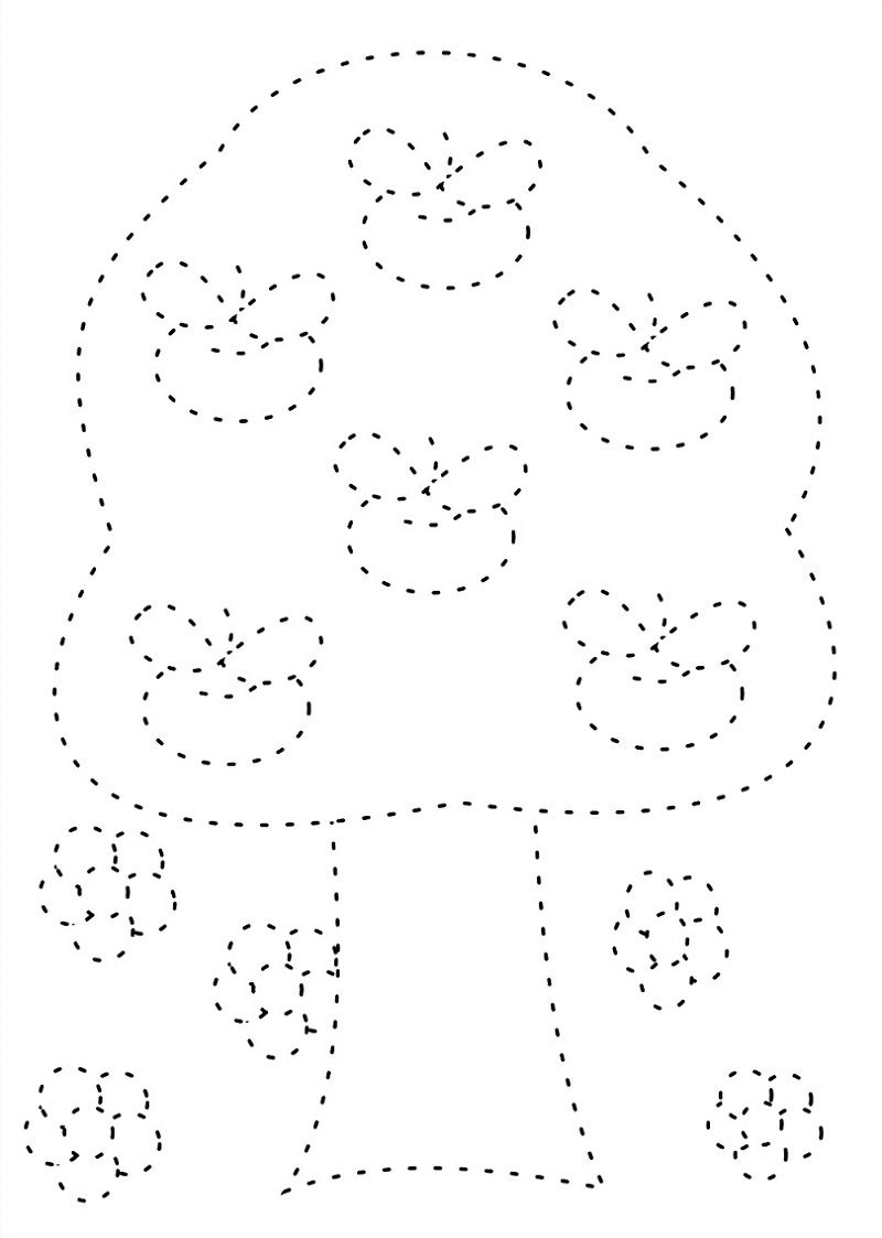 Tracing Pictures For Kids Page