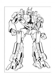 Transformer printable coloring pages1