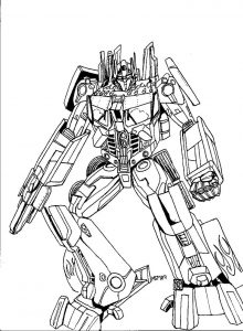 Transformers bumblebee coloring pages1