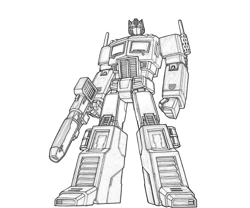 Transformers Coloring Pages For Kids1