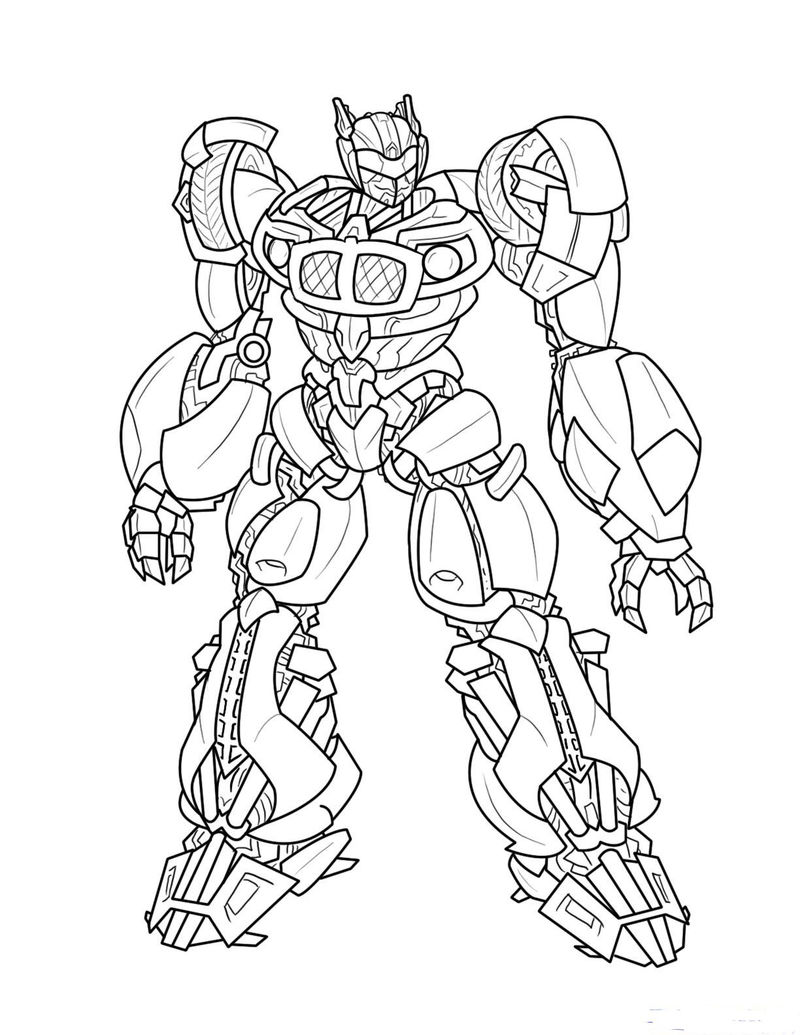 Transformers Pictures To Color