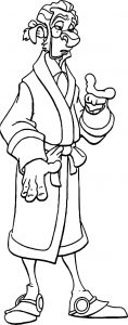 Treasure planet dopplerd coloring pages