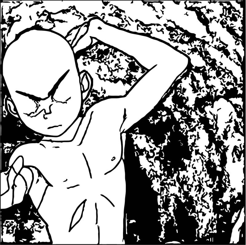Tumblr Ngzdwuqtnento Avatar Aang Coloring Page