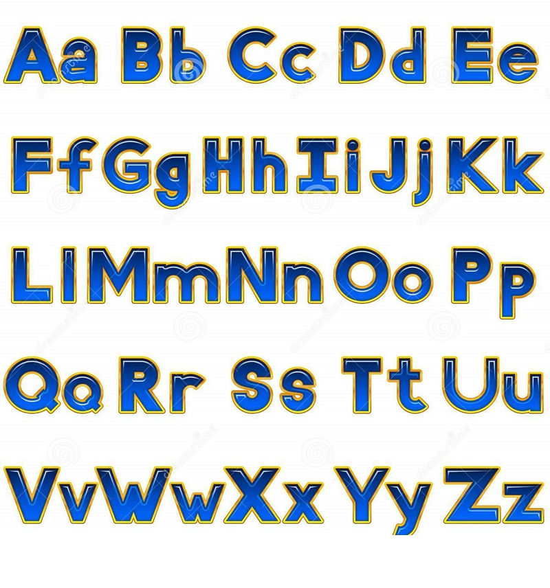 Uppercase And Lowercase Alphabet Printable