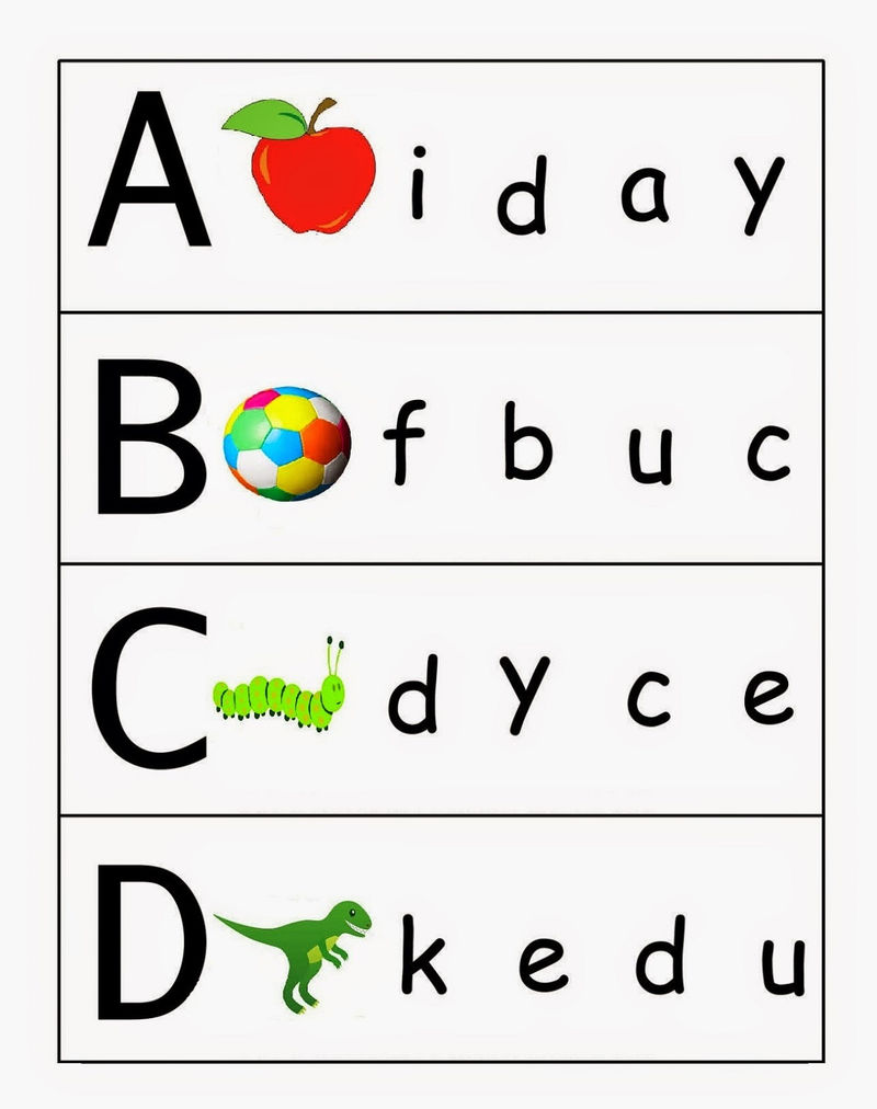 Uppercase And Lowercase Worksheets Children