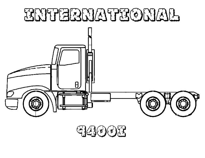 Ups Truck Coloring Pages