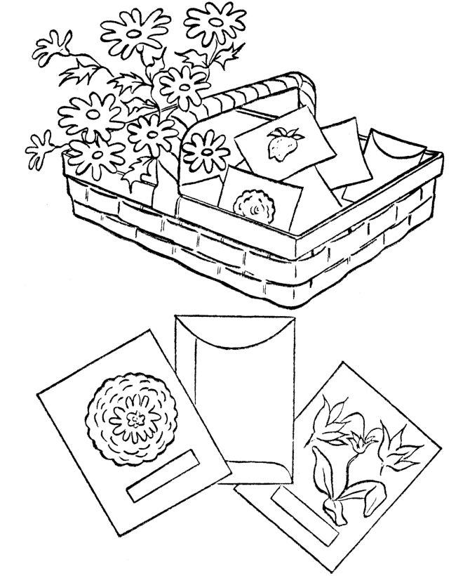 Vegetable Seeds For Garden Coloring Pages 001
