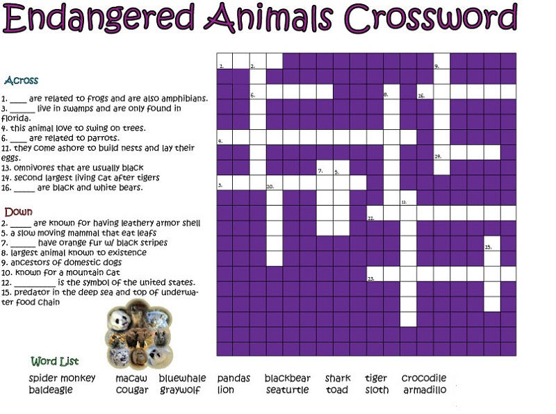 graphic regarding Easy Crossword Puzzles Printable identify Rather Uncomplicated Crossword Puzzles Printable - Coloring Sheets