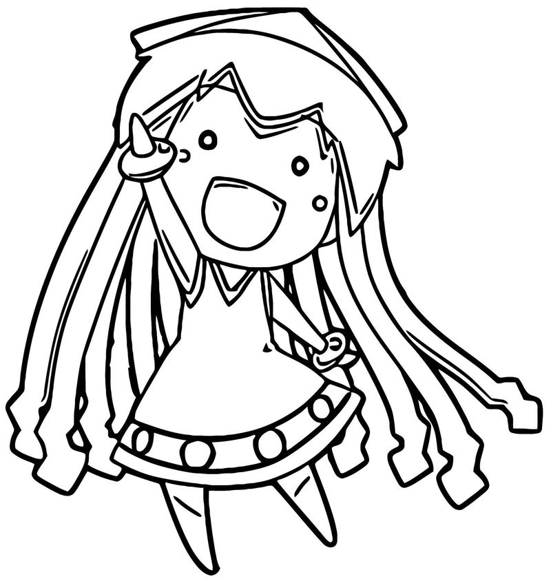 Winner Squid Girl Coloring Page 161