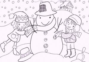 Winter Games Coloring Pages