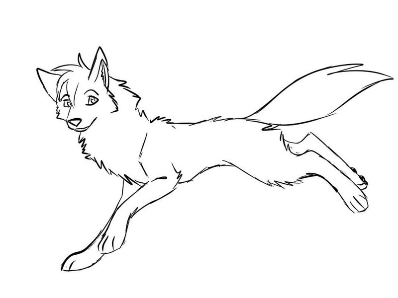 Wolf Coloring Pages For Kids