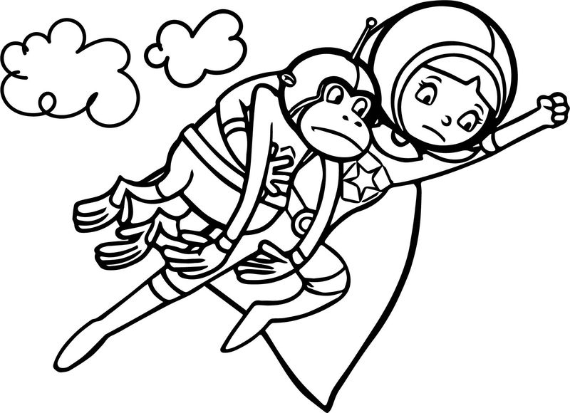 Word Girl Super Why Coloring Page