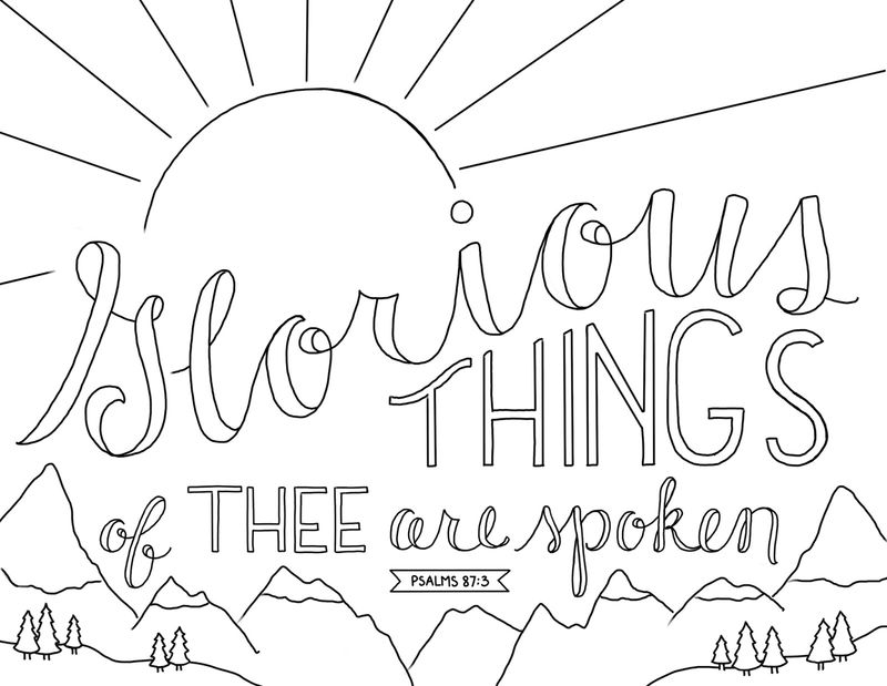 Word Of Wisdom Coloring Page Free 001