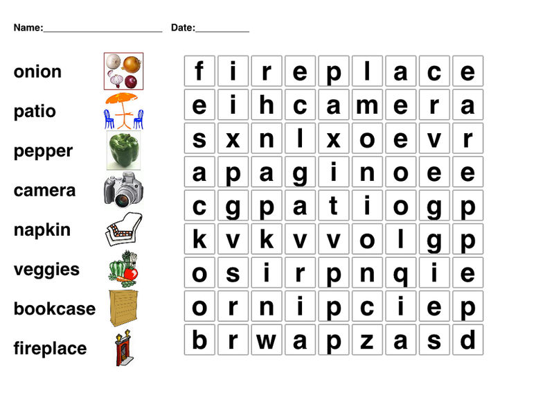 Word Search For Children Free