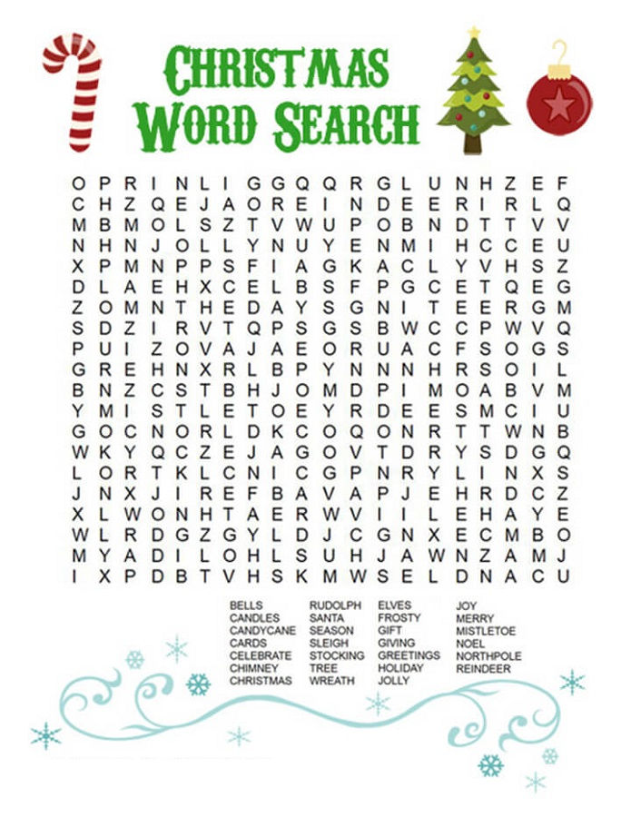 Word Search For Children Free 1