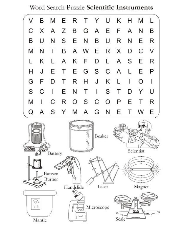 Word Search Kids To Print