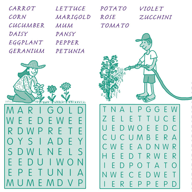Word Searches For Kids Activity