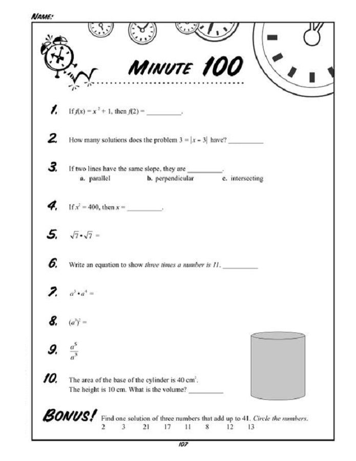 Worksheets For Two Year Olds Minute