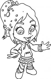Wreck it ralph happy coloring page