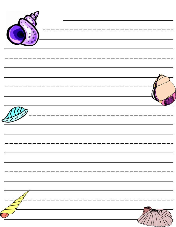 Writing Paper Printable Notebook 001