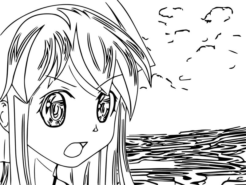 You Squidding Me Squid Girl Cartoon Coloring Page