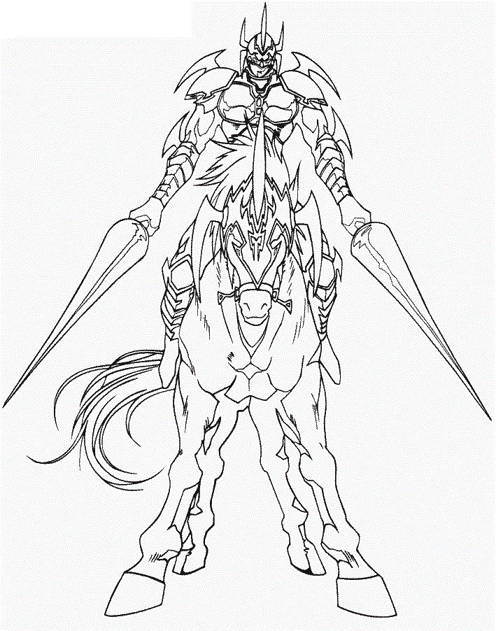 Yugioh Coloring Pages For Kids