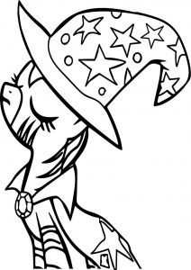 Zecora my little pony friendship is magic mlp cartoons coloring page