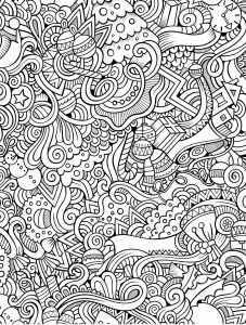 Abstract Printable Coloring Pages - Abstract Coloring Pages for Adults Inspirational Abstract Printable Coloring Pages Heathermarxgallery Abstract Coloring Pages for 4q