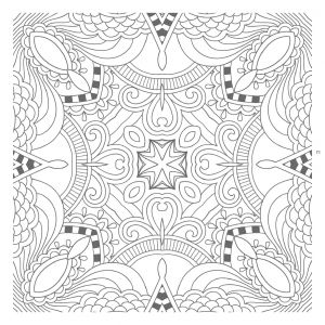 Abstract Printable Coloring Pages - Art is Fun Free Abstract Coloring Pages with Printable for Kids Time 1m