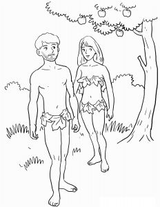 Adam and Eve Coloring Pages - Free Printable Adam and Eve Coloring Pages for Kids Best Garden Eden Coloring Pages 4k