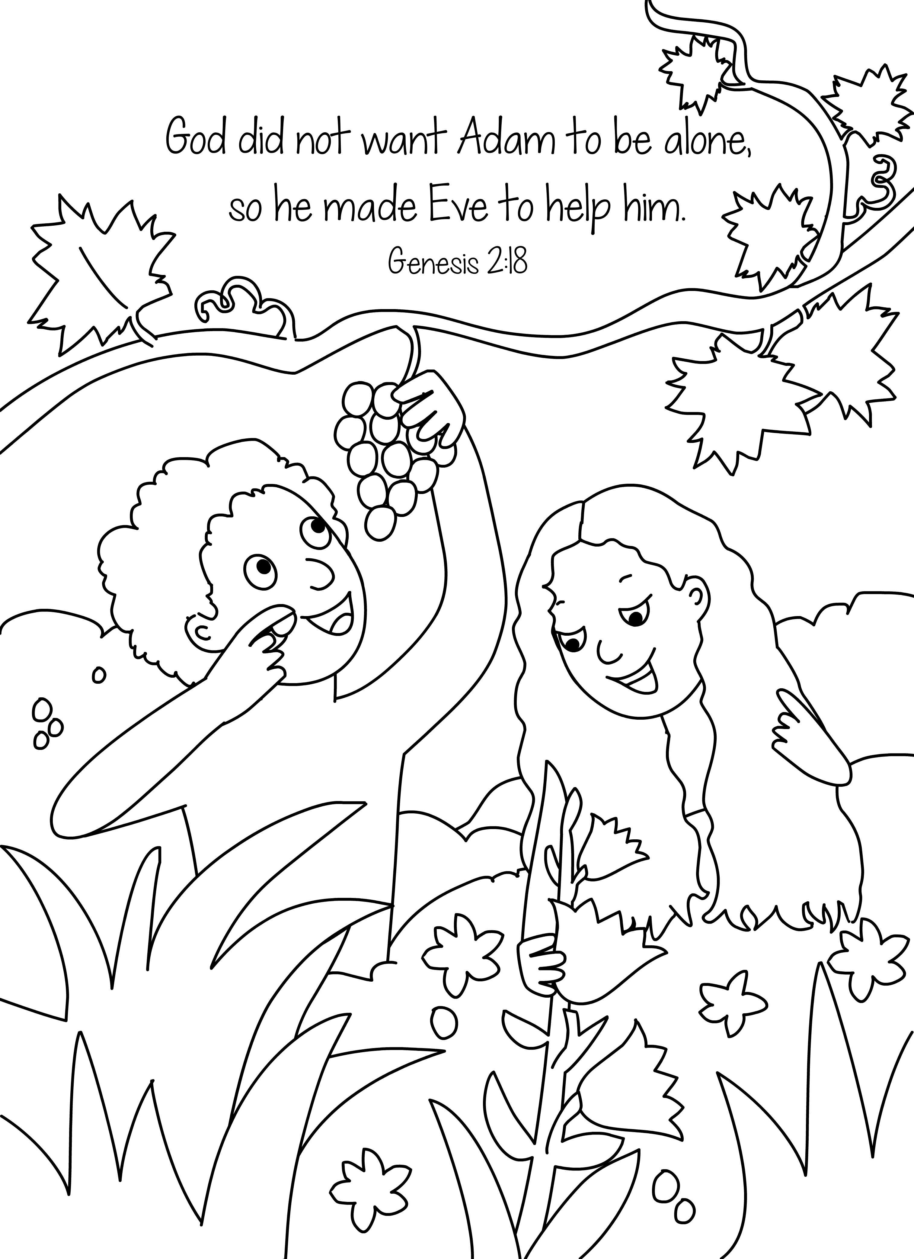 adam and eve coloring pages for preschool Collection-Adam and Eve Coloring Pages for Kids Free Adam and Eve Coloring Pages Lovely Adam and 4-i