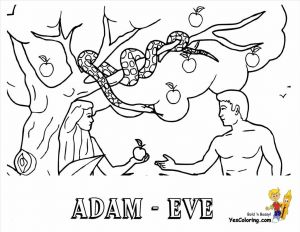 Adam and Eve Coloring Pages Printable - Cain and Abel Coloring Pages Luxury First Children Adam Eve Page 9k