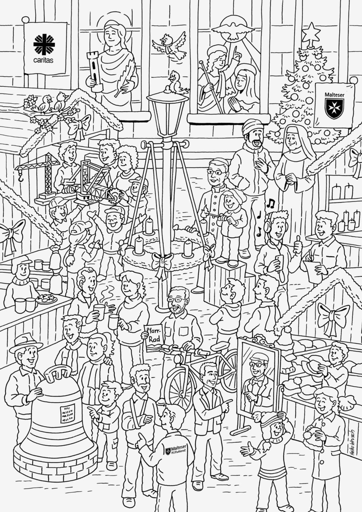 27 advent coloring pages catholic download - coloring sheets