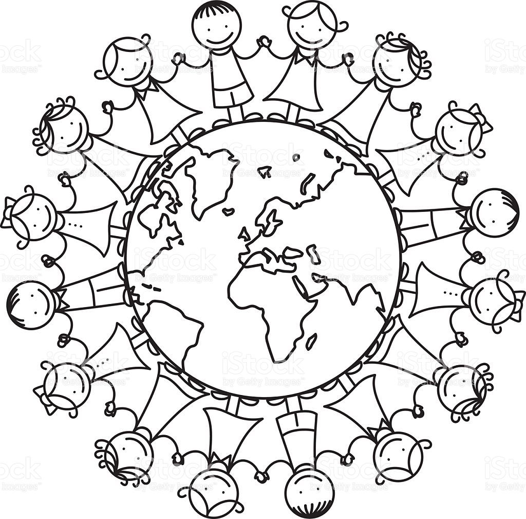 all about me coloring pages Download-Image result for it s a small world coloring page 1-n