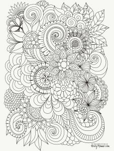 All Coloring Pages - Printable Flower Coloring Pages Printable Color Pages for Adults Awesome Fall Coloring Pages 0d Page 9o