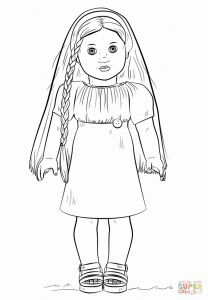 American Girl Coloring Pages - Doll Coloring Pages Printable New American Girl Printable Coloring Pages 17m