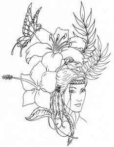 American Indian Coloring Pages - Native American Coloring Pages Printable 3j