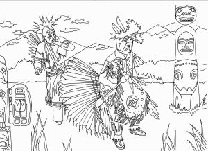 American Indian Coloring Pages - Indian Coloring Pages Print Out Fresh Native American Coloring Page Letramac 7o