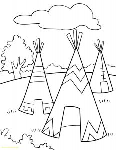 American Indian Coloring Pages - Native American Coloring Page with Girl Superb Color 2q