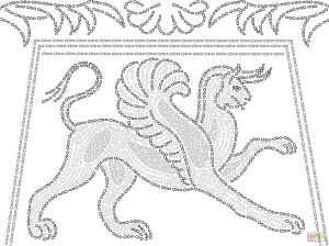 Ancient Roman Coloring Pages - Roman Mosaic Coloring Pages 13o