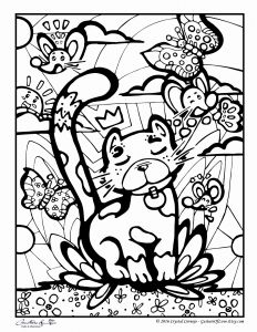 Anger Management Coloring Pages - Cat and Mouse Coloring Pages 1r