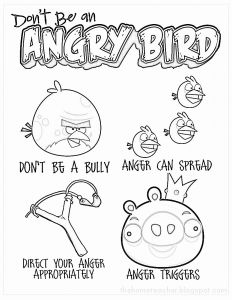 Anger Management Coloring Pages - Bullying Coloring Pages 10m