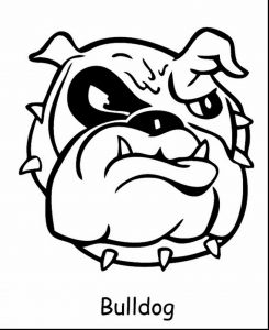 Anger Management Coloring Pages - Bulldogs Coloring Pages 19p