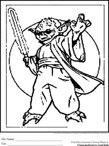 Anger Management Coloring Pages - Starwars Coloring Page 19e