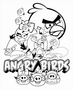Angry Birds Pigs Coloring Pages - Star Wars Angry Bird Coloring Pages 5q