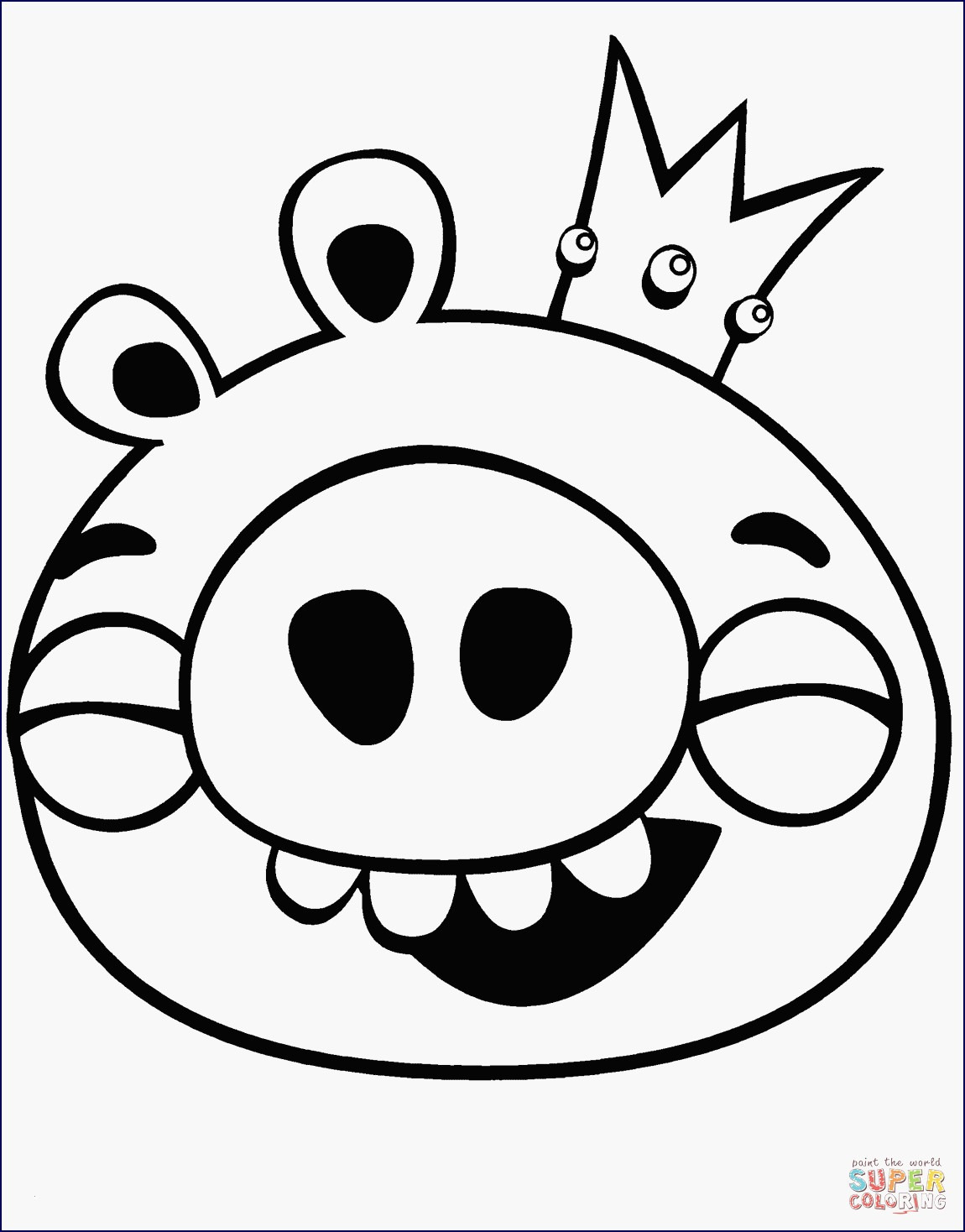 angry birds pigs coloring pages Collection-Angry Bird Pigs Coloring Pages Unique Am Besten Der Ausmalbilder 15-l