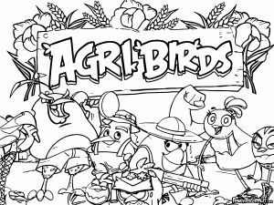 Angry Birds Pigs Coloring Pages - Angry Birds Coloring Pages Games Inspirational Angry Birds Coloring Pages Christmas 15q