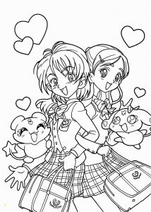 Anime Coloring Pages - Cute Anime Chibi Girl Coloring Pages Beautiful Printable Coloring Pages for Girls Lovely Printable Cds 0d 5a