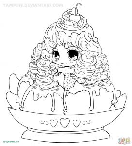 Anime Coloring Pages - Coloring Pages Anime Girls Cute Anime Chibi Girl Coloring Pages 2019 20 Chibi Girl Coloring 19g